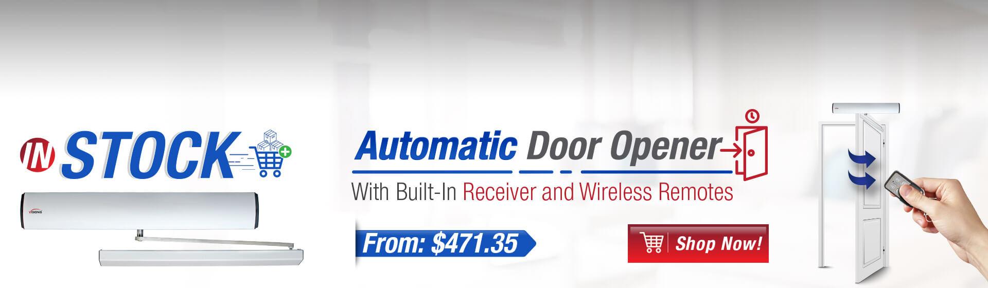 Automatic Door opener banner
