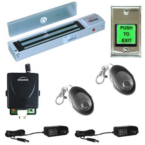 FPC-5012-1-ONE-DOOR-ACCESS-CONTROL-OUTSWINGING-DOOR-600LBS-ELECTROMAGNETIC-LOCK-KIT