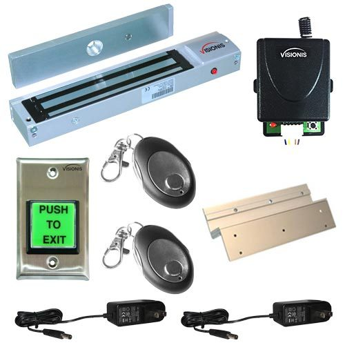 FPC-5013-1-ONE-DOOR-ACCESS-CONTROL-INSWINGING-DOOR-600LBS-ELECTROMAGNETIC-LOCK-KIT