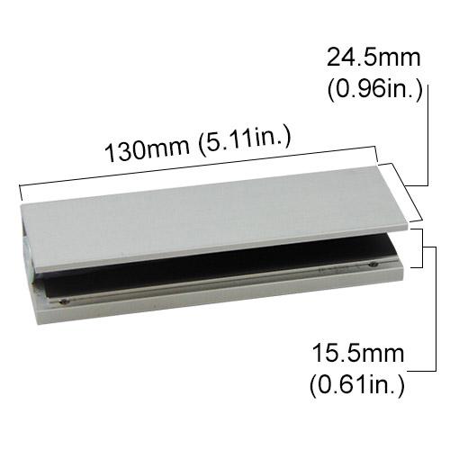 Visionis u1 300 bracket for 300lb lock for glass doors fpc visionis vs u1 300 bracket for 300lb electromagnetic lock for glass doors planetlyrics Image collections