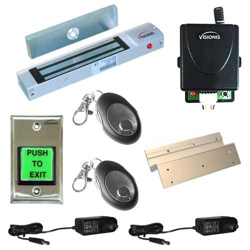 FPC-5007-1-ONE-DOOR-ACCESS-CONTROL-INSWINGING-DOOR-300LBS-ELECTROMAGNETIC-LOCK-KIT