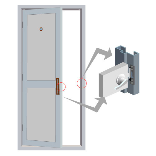 Previous  sc 1 st  FPC Security & Visionis VIS-EL100-FSE 1100lbs Stainless Steel Electric Door ... pezcame.com