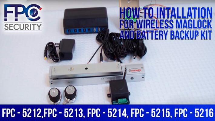 Installation Video FPC-5212-VS