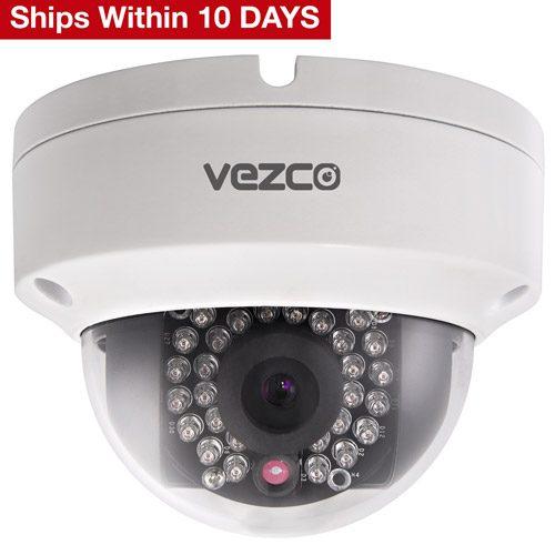 VZ-IP-D2030 - 2MP CMOS Vandal-proof Network Dome Camera