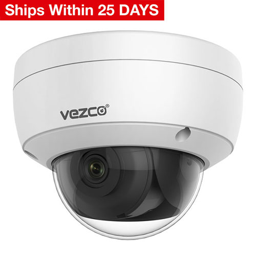 VZ-IP4K-D8000TWDR 8 MP Network Dome Camera, 4K Super High-Definition