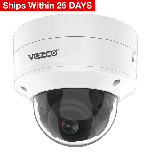 VZ-IP4K-D8050MZVF - 8MP WDR Vari-focal Network Dome Camera