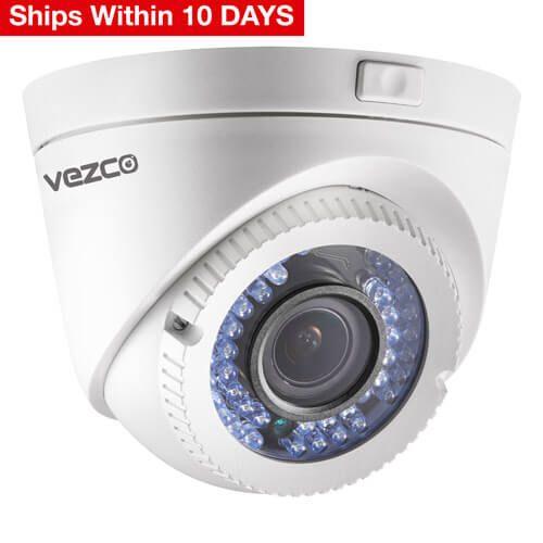 VZ-TVI-D2040VF - HD1080P Vari-focal IR Turret Camera