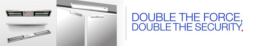 Indoor Double Door Maglocks