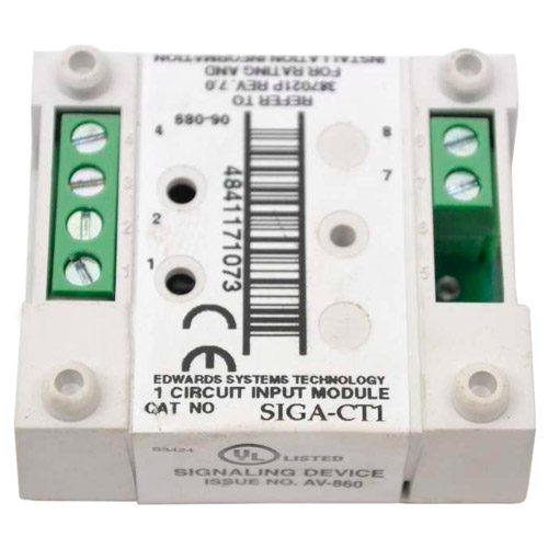 Edwards SIGA-CT1 Single Input Module