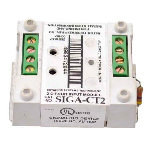 Edwards SIGA-CT2 Dual Input Module