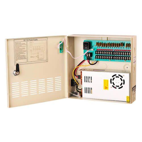 VISP-1209-20A 9ch, input AC100-220V