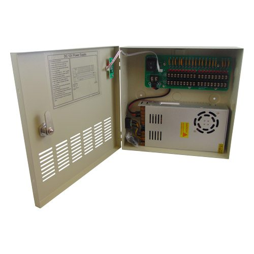 VISP-1218-30A - DC12V 30A 18 Channels Power Supply