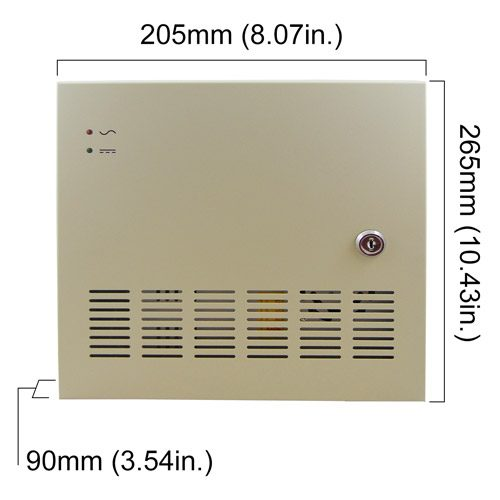 VISP-1218-30A Dimensions