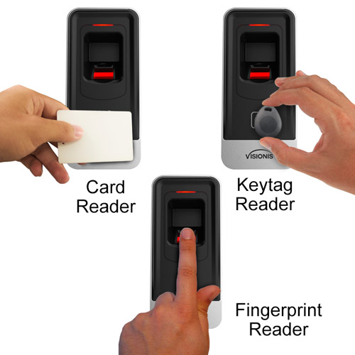 VIS-3020 Fingerprint reader and card reader