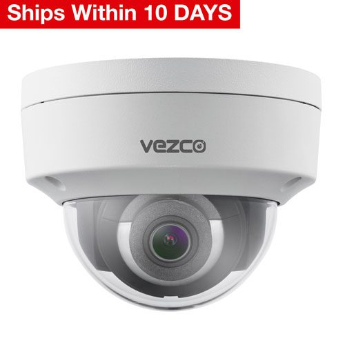 VZ-IP-D4230-DARK - 4 MP IR Fixed Dome Network Camera