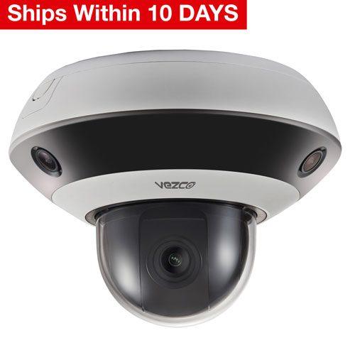 VZ-IP-PANO360 - PanoVu Mini Series IR Network PTZ Camera