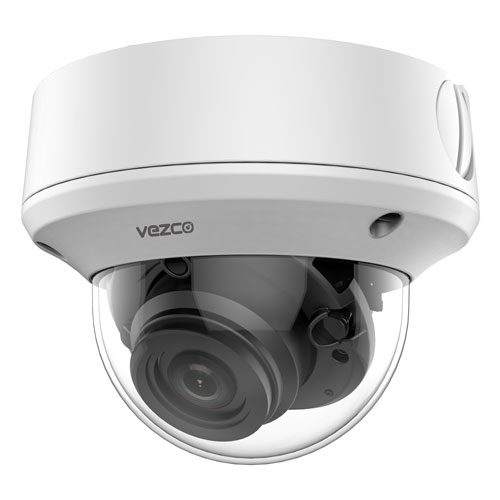 VZ-TVI-D5540MZVF - 5 MP Dome Camera, motorized vari-focal lens