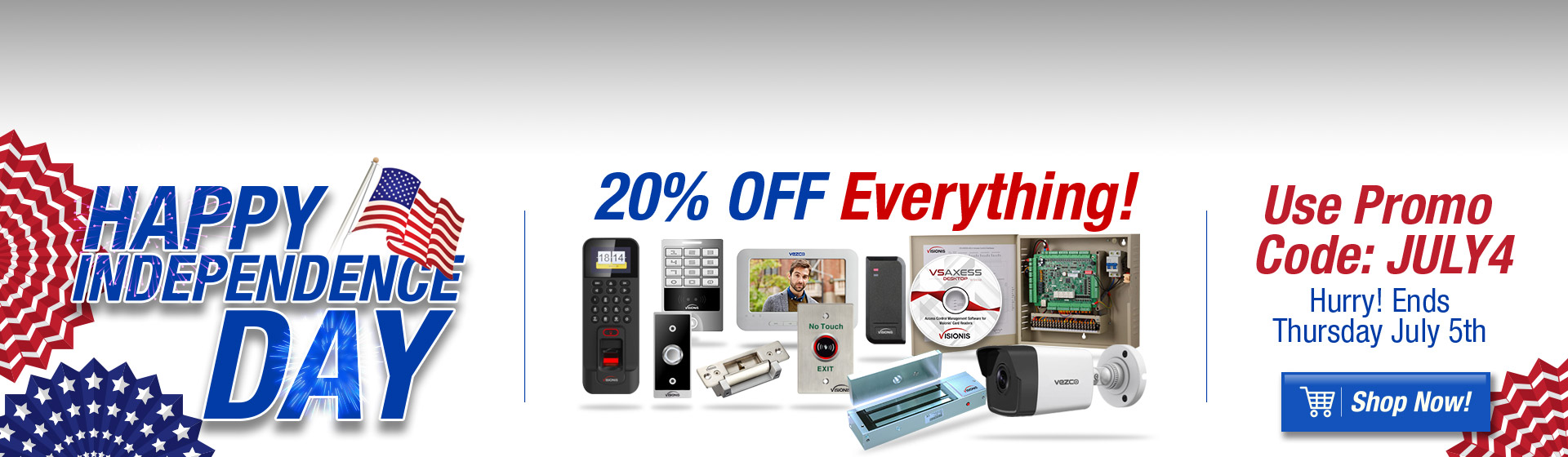 July 4th Promotion