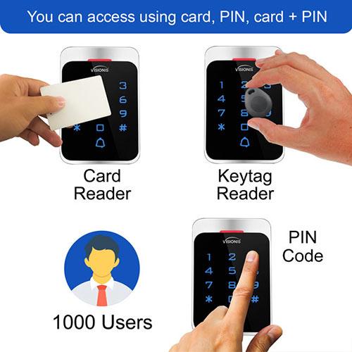 card keytag keypad VIS-3022