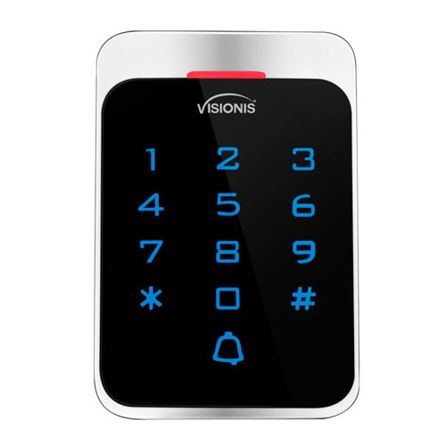 Access Control Outdoor Weatherproof Metal Housing Anti Vandal Digital Touch Keypad VIS-3022