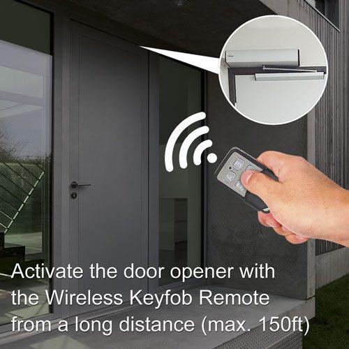 VIS-8016 remote keyfob door opener