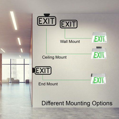 VIS-ESGGL mounting options