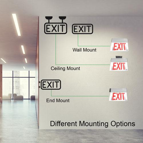 VIS-ESRGL mounting options