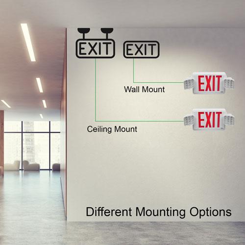 VIS-ESRWEL mounting options
