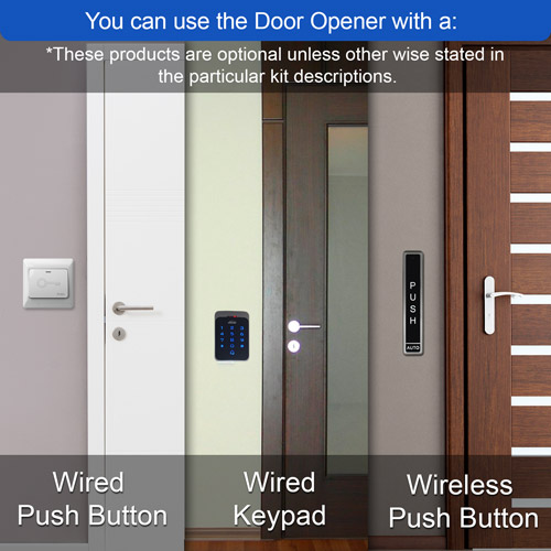 VIS-440-ADO door opener keypad push button