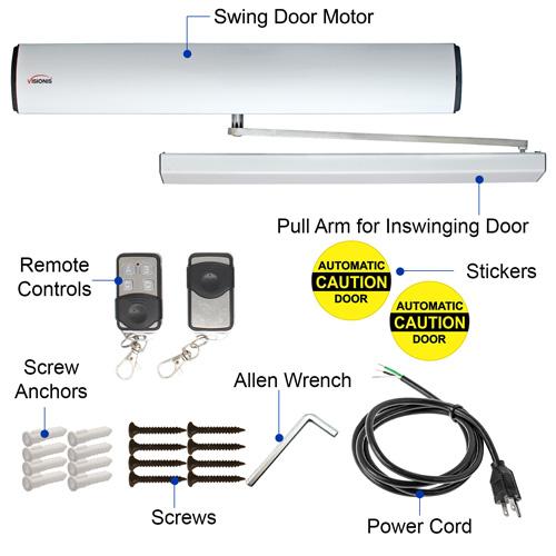 door opener includes in the box