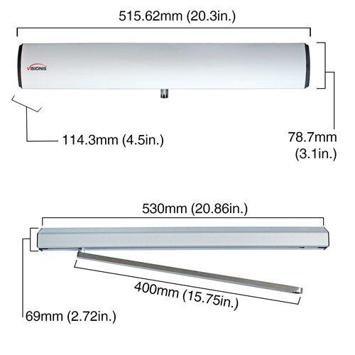 electric door opener VIS-440A-ADO