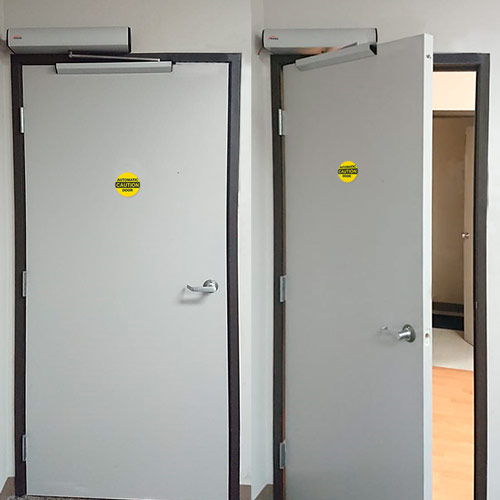 automatic door opener installation VIS-440A-ADO
