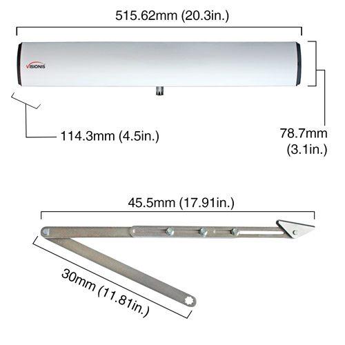 VIS-440B-ADO dimensions
