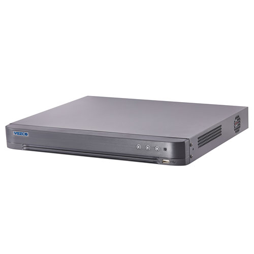 16CH DVR Turbo HD, 4-ch Audio input, 2 SATA - VZ-DVR-8M16-4K Top Side View