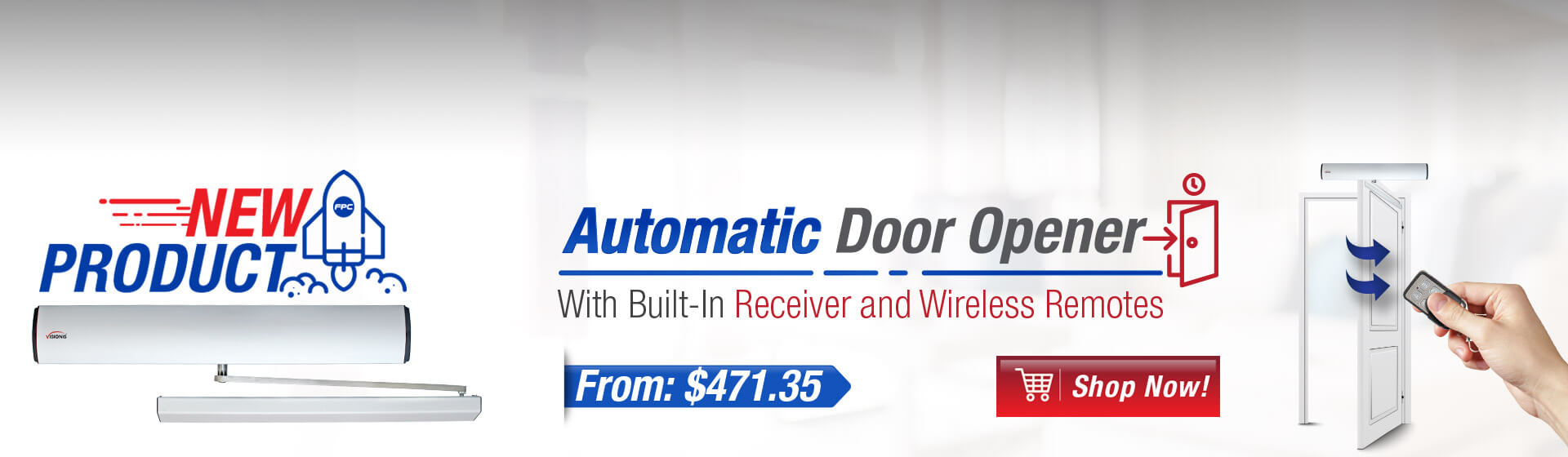 Banner Atuomatic Door opener