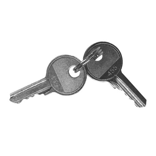 VIS-7031-SK – Spare Key for VIS-7031 Red Push to Exit Button