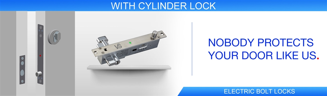 With Cylinder Lock