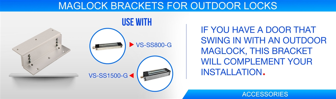 Maglock Brackets For Outdoor Locks