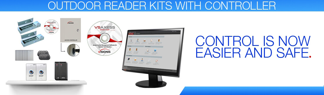 Outdoor Reader Kits With Controller