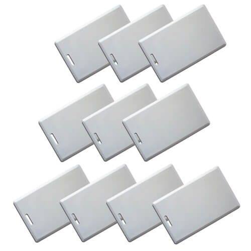 Visionis VIS-Aproxcard/26 Access Control Proximity contactless Smart Entry card 1.8mm thick 26 bit 125khz Pack of 10